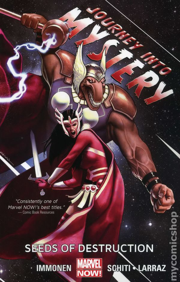 Journey Into Mystery Tpb 2013 Marvel Now Featuring The