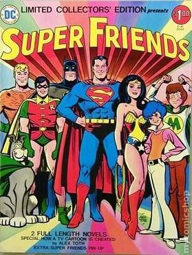 Super Friends DC Treasury Edition #C-41