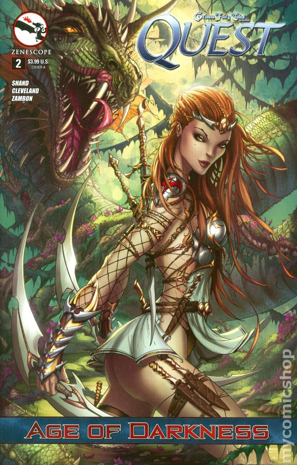 Grimm Fairy Tales Quest 2013 Zenescope Comic Books