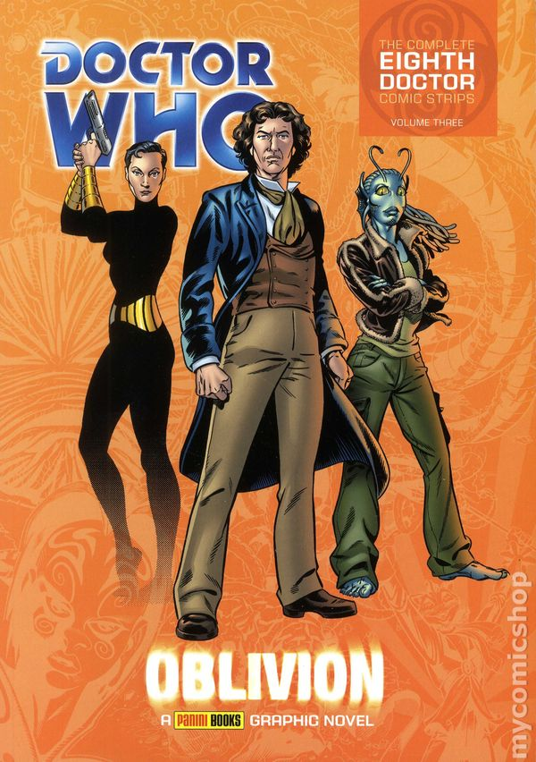Comic complete doctor doctor eighth strip who