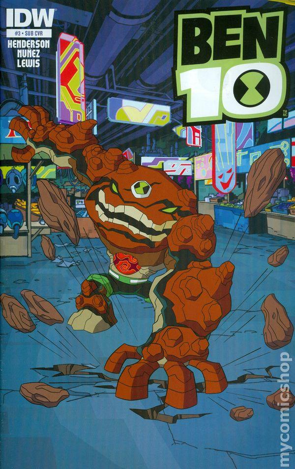 ben 10  2013 idw  comic books