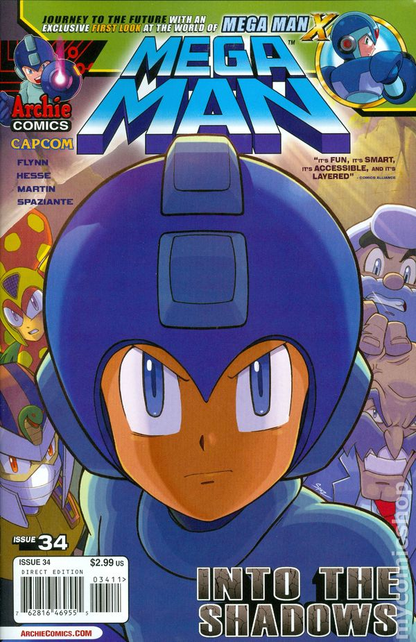 Archie Mega Man - Free Comic Book Day 2012