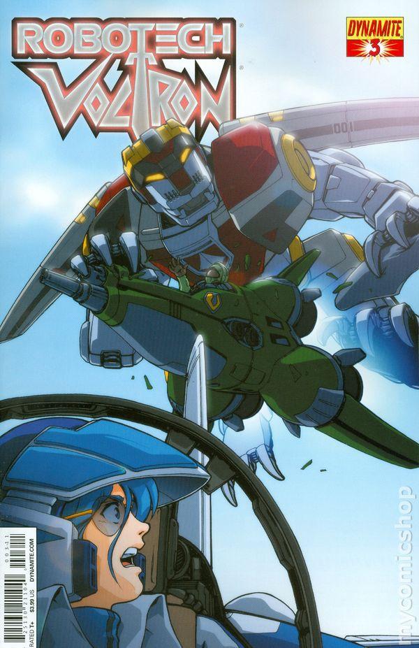 Robotech Voltron  Dynamite Comic Books