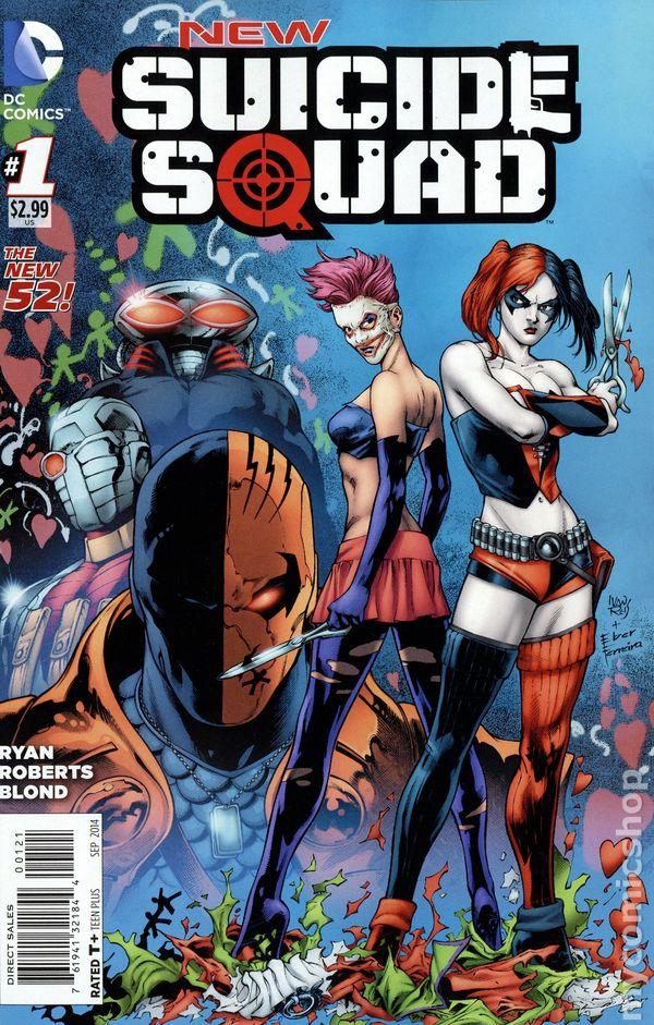new suicide squad  2014  comic books