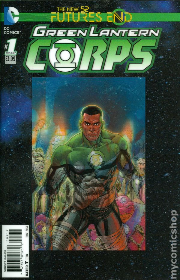 Green lantern corps comic cover - photo#10