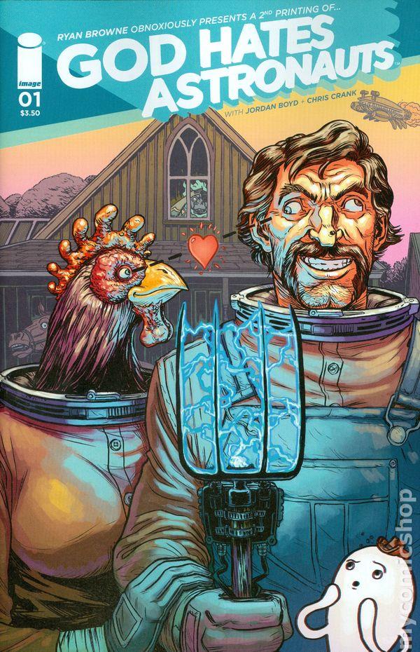 Darrow >> God Hates Astronauts (2014 Image) comic books