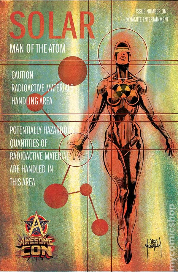 Solar, Man of the Atom #3 (1991) Value - GoCollect