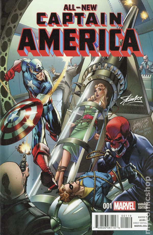 all new captain america  2014 marvel  comic books