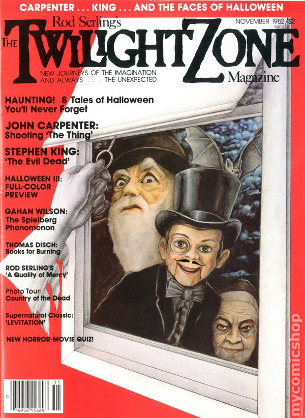 TWILIGHT ZONE MAGAZINE Feb., March, Apr., May, July, Aug., 1982