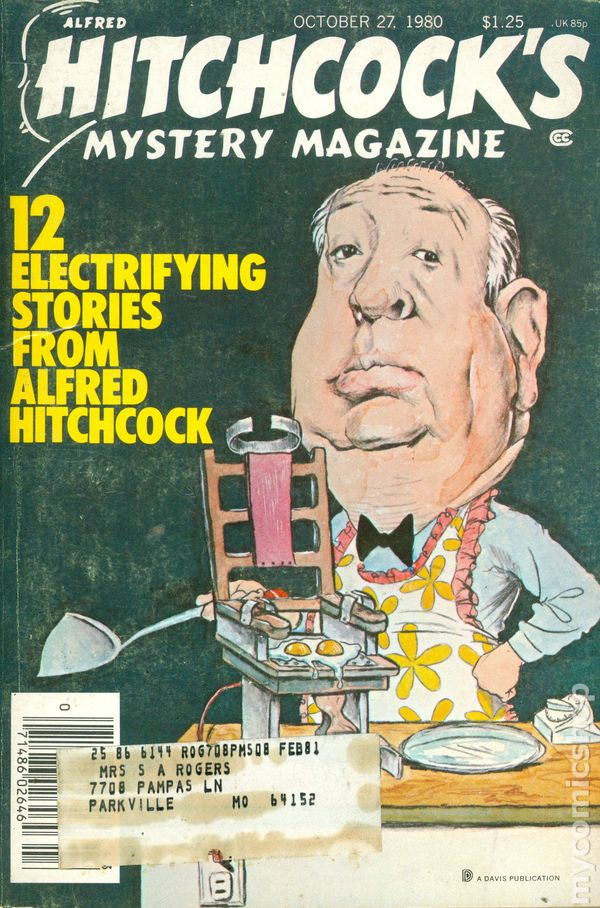 Alfred Hitchcock Mystery Magazines Lot of 6, Published 1980