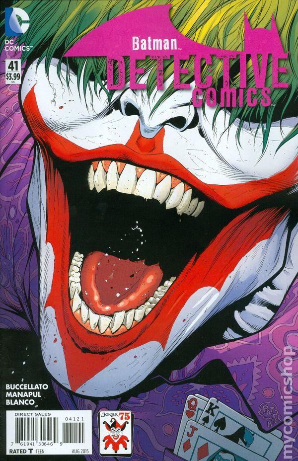 Detective Comics 2011 2nd Series 41b Nm