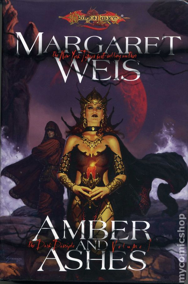 DragonLance The Dark Disciple: Amber and Blood Vol. 3 by Margaret Weis (2008, H…