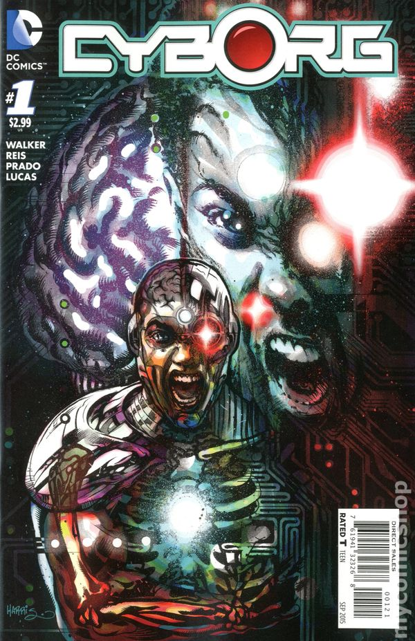 Cyborg 2015 Comic Books