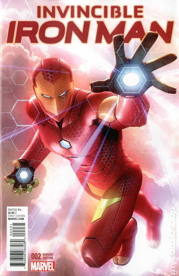 invincible iron man 2015 2nd series comic books