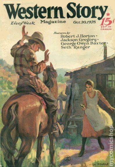 Western Story Magazine - May 31, 1924 - Pulp Magazine