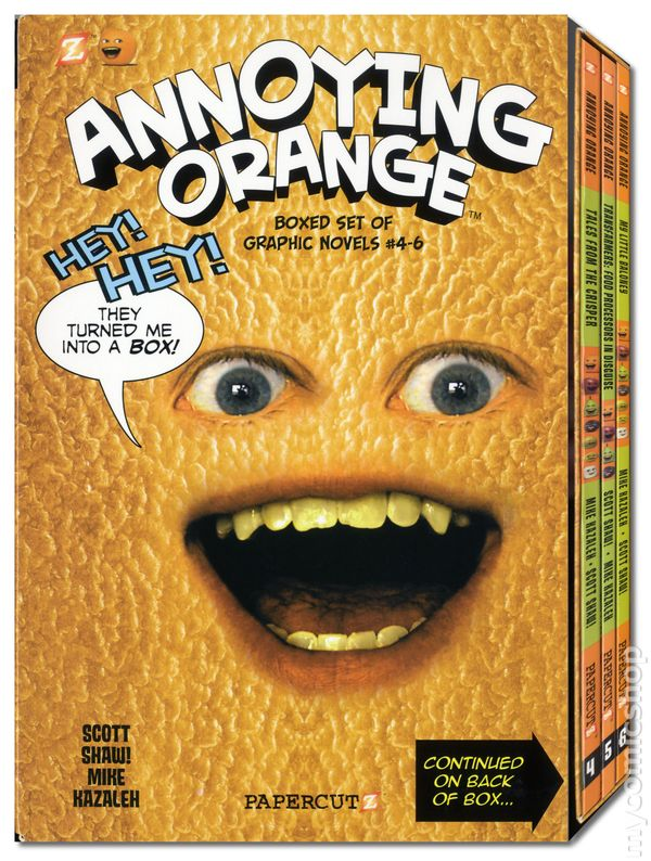 annoying orange comics - photo #39