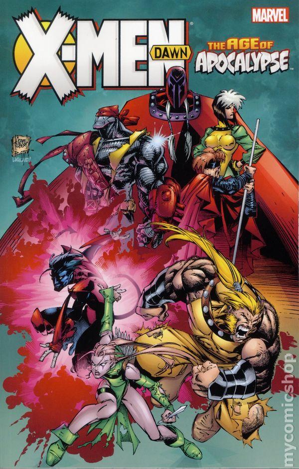 Men Age of Apocalypse Dawn TPB (2016 Marvel) #1-1ST X Men Age Of Apocalypse Blink
