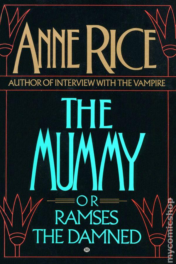 Mummy Or Ramses The Damned Sc  1989 Ballantine Books Novel