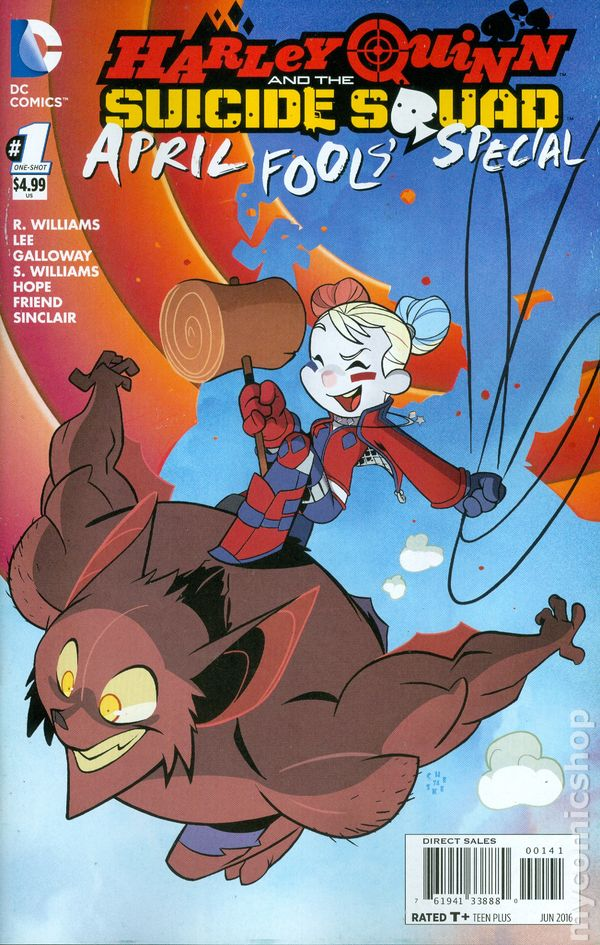 Harley Quinn And The Suicide Squad April Fool S Special