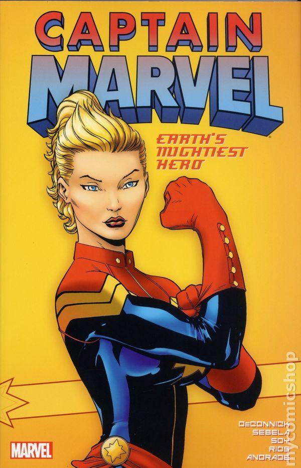 captain marvel comic hero - photo #24