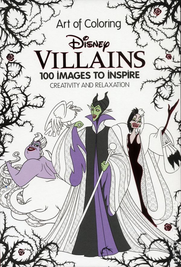 Comic Books In Art Of Coloring Disney
