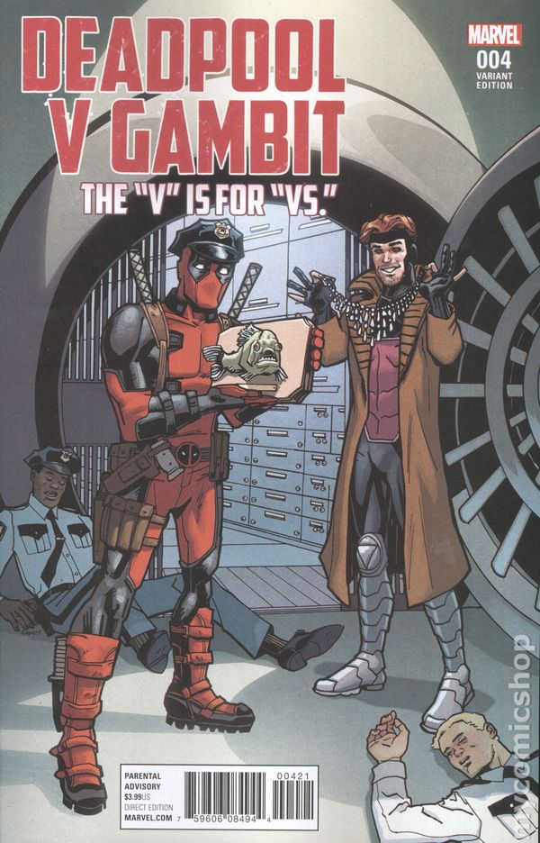 Deadpool vs. Gambit Comic | Euro Palace Casino Blog