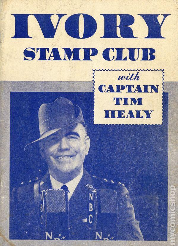 ivory stamp club with captain tim stamp album 1934 radio premium comic books. Black Bedroom Furniture Sets. Home Design Ideas