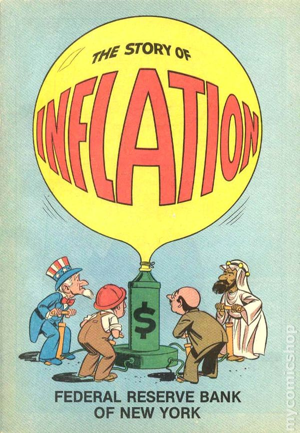 the issue of inflation Inflation can be a problem when it is unexpected or very high, which can result in economic instability and people being afraid to spend money, which hinders economic growth furthermore.