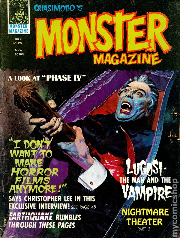 FREAKY MONSTERS magazine # 11