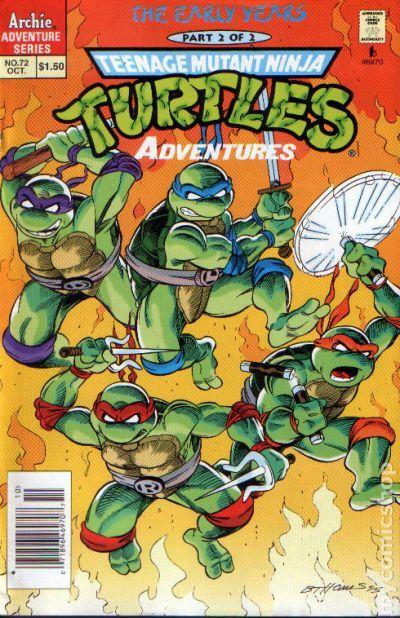 Batman/Teenage Mutant Ninja Turtles Adventures Part 1 ...