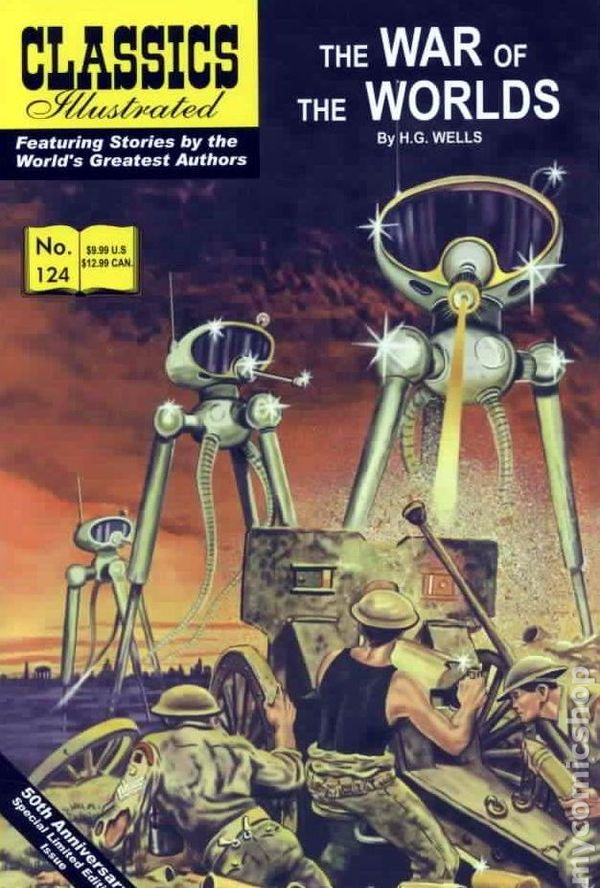 Classics Illustrated Jr War Of The Worlds Hc 2005 Comic Comic Books In Illustrated Book