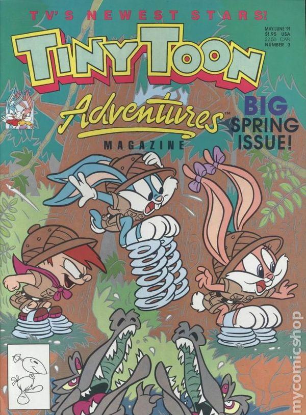 Tiny Toon Adventures Magazine (1990) comic books