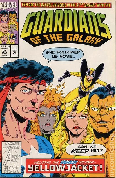 Guardians of the Galaxy (1990 1st Series) comic books