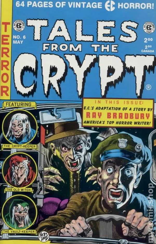 Tales From The Crypt 1991 Russ Cochran Comic Books
