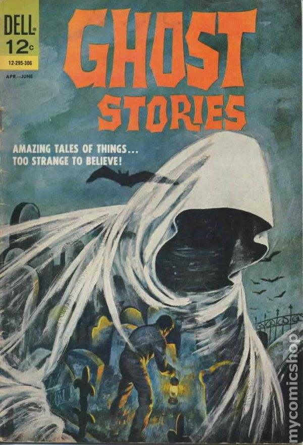 ghost stories  1962  comic books