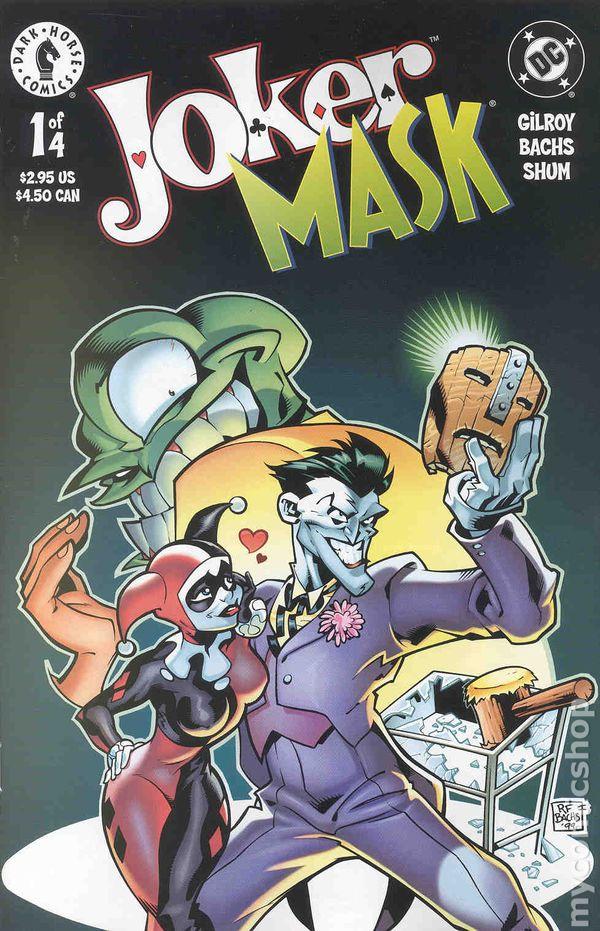 joker mask  2000  comic books
