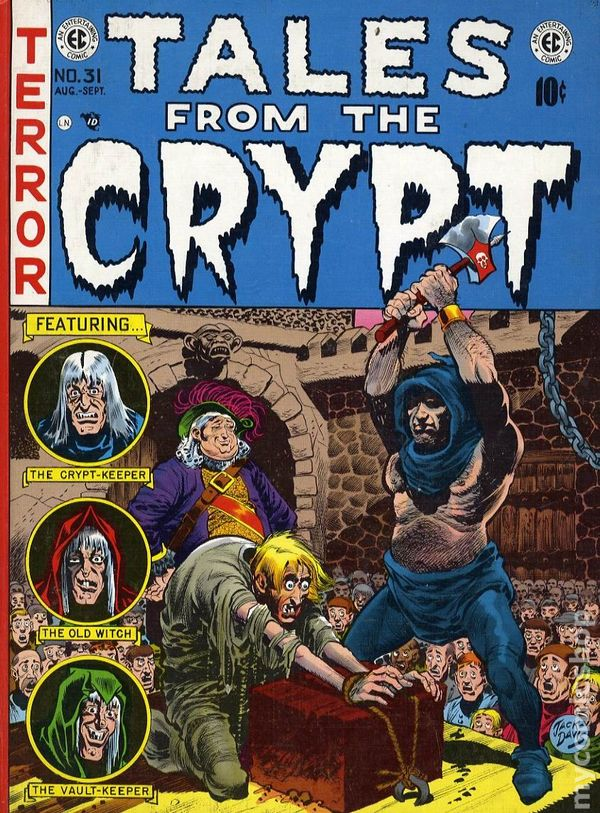 Tales from the crypt comic booksâ€