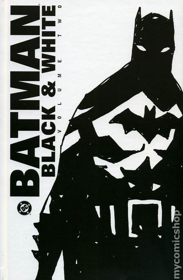 Black N White Book Cover ~ Batman black and white hc dc comic books