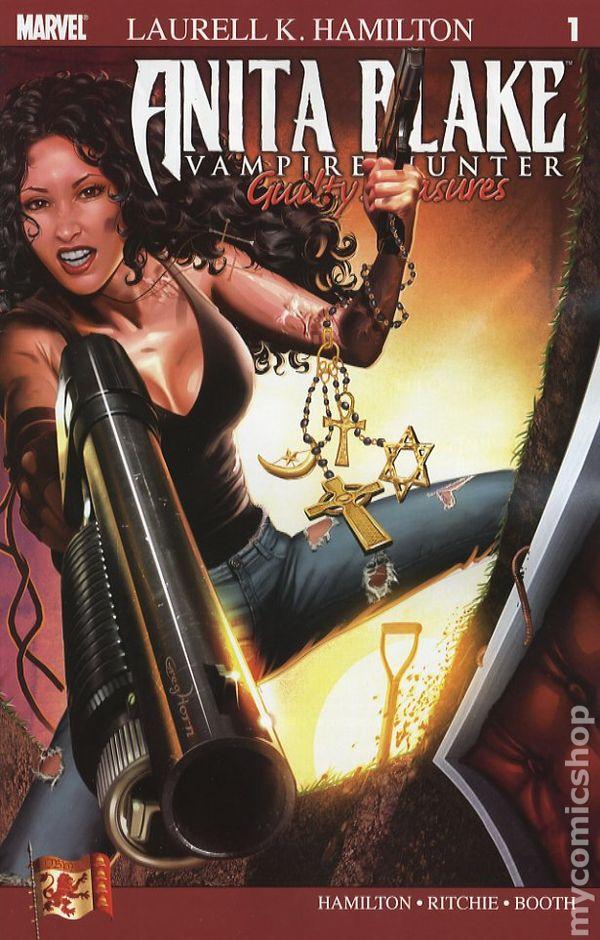 Anita Blake, Vampire Hunter: Blue Moon No.8 by Laurell K. Hamilton