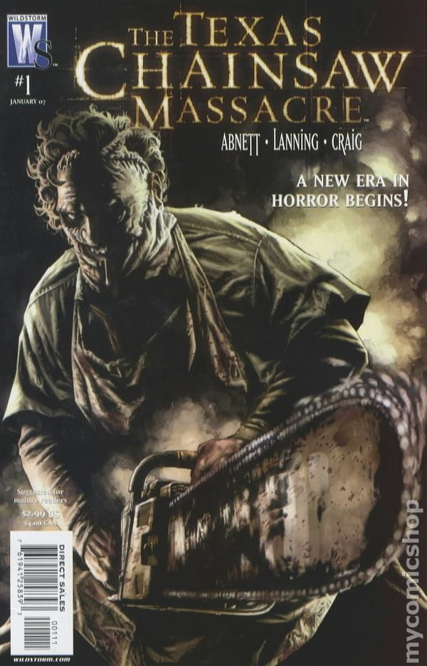 Texas chainsaw massacre dc wildstorm comic books