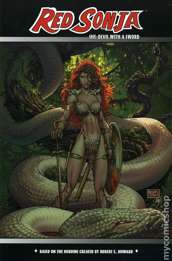 Red Sonja Tpb 2006 2014 Dynamite Entertainment Comic Books