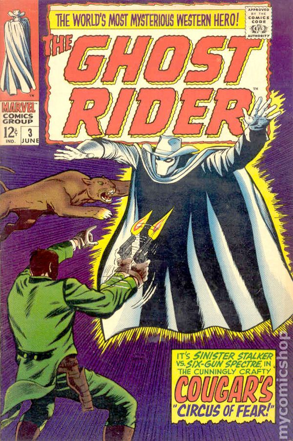 ghost rider  1967 western  comic books