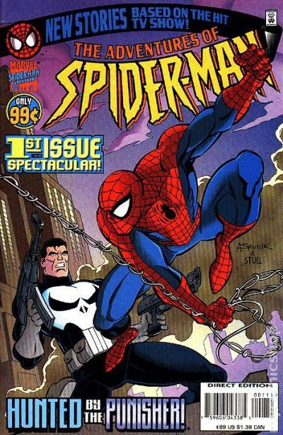 Adventures Of Spider Man 1996 Comic Books