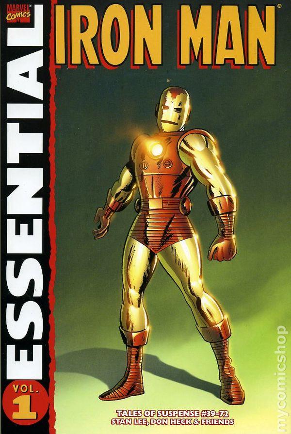Essential Iron Man TPB (2005-Present Marvel) 2nd Edition comic books