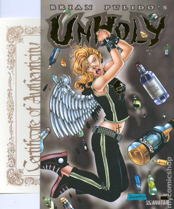 Unholy (2004) Comic Books