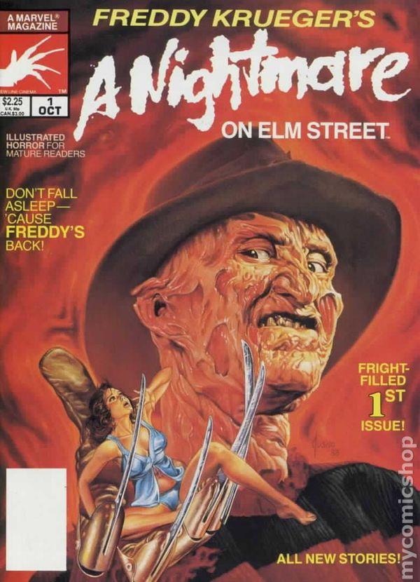 Freddy Krueger's A Nightmare on Elm Street (1989) comic books