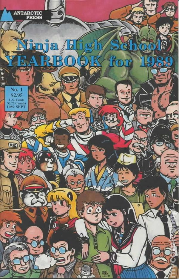 NHS Yearbook 1989