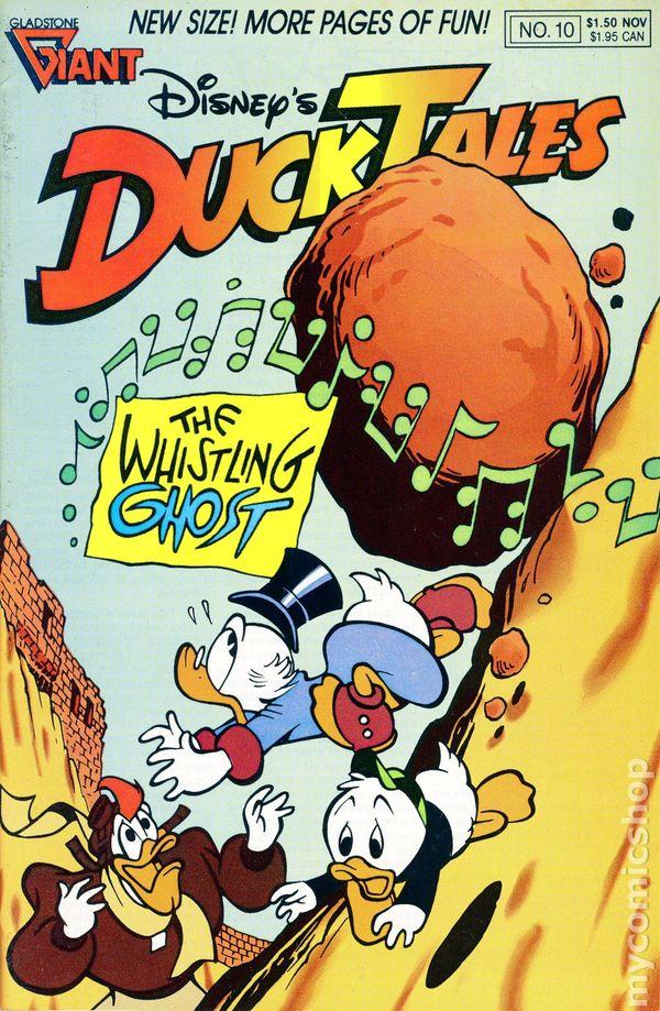 ducktales  1988 gladstone  comic books
