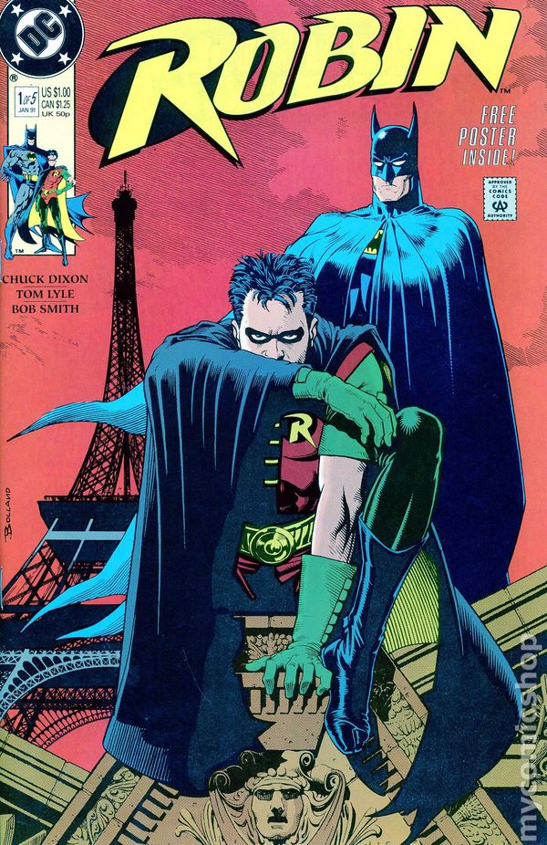 Robin (1991 Limited Series ) comic books
