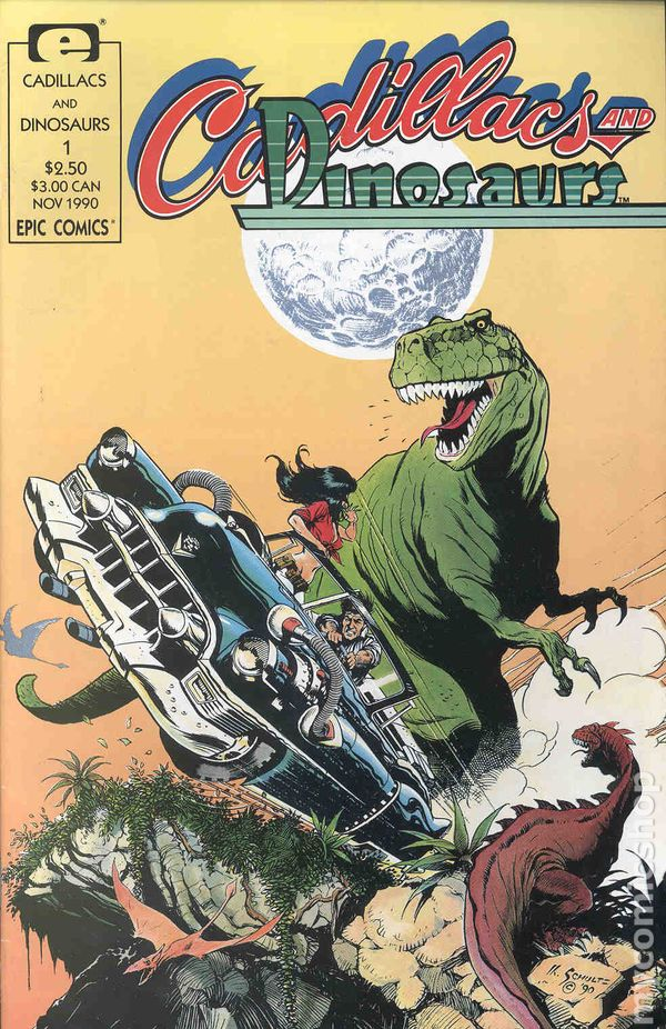 cadillacs and dinosaurs 1990 marvel comic books. Cars Review. Best American Auto & Cars Review